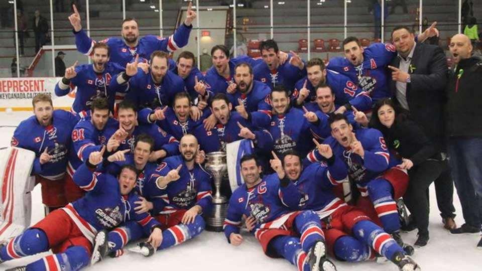 Allan Cup 2019 Canadian Mens AAA Hockey Championships